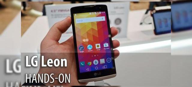 MWC 2015: LG Leon hands-on - telefon low end cu Lollipop, design atractiv (Video)