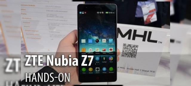MWC 2015: ZTE Nubia Z7 hands-on - șasiu compact, interfaţă foarte animată (Video)