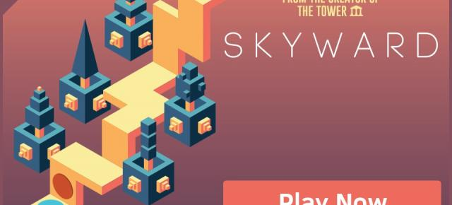 Skyward Review (Allview X1 Xtreme Mini): grafică de Monument Valley, endless runner vertical (Video)