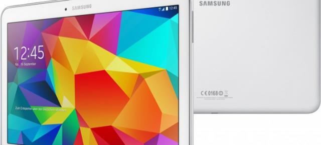 Samsung pregătește un upgrade minor pentru tableta Galaxy Tab 4 10; un chip 64-bit Snapdragon 410 va fi inclus la pachet