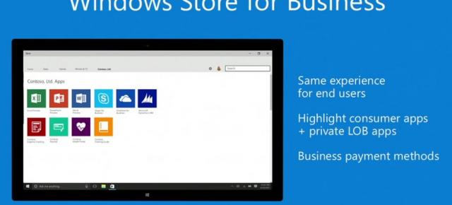 Microsoft anunță Windows Store for Business; platformă dedicată unui mediu productiv