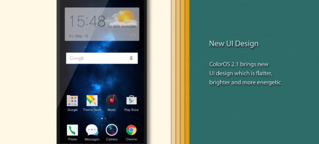 Oppo lansează oficial Color OS 2.1, bazat pe Android Lollipop (Video)