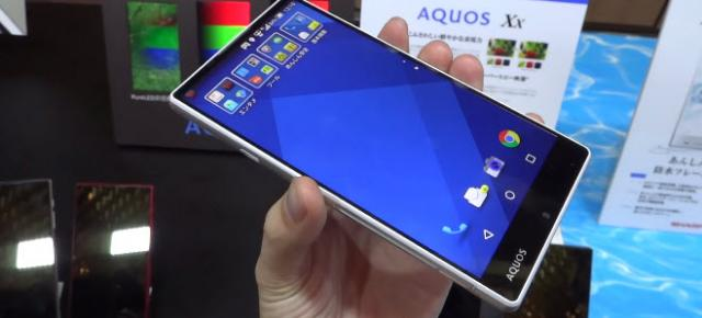 Sharp Aquos Xx primește un hands-on detaliat; iată cum arată phablet-ul cu ecran edge-to-edge (Video)