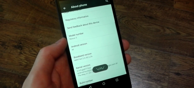 Android M Developer Preview primeşte o experienţă hands on in faţa camerei (Video)