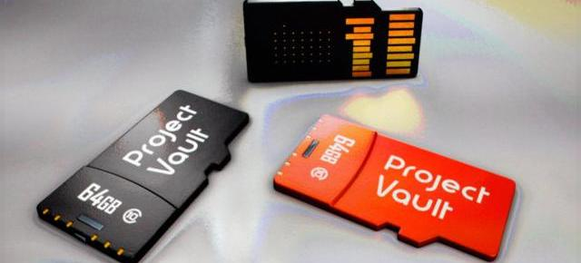 Project Vault este un mediu securizat de calcul de la Google, un card microSD cu rol de mini PC