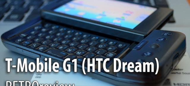 Primul telefon cu Android analizat în retrospectivă: T-Mobile G1 (HTC Dream) RETROreview