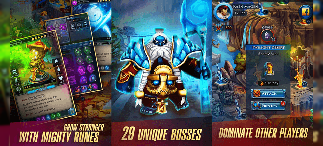 Defenders 2 Tower Defense CCG Review (HTC One A9): un tower defense modern cu cărţi de joc colecţionabile şi vrăji (Video)