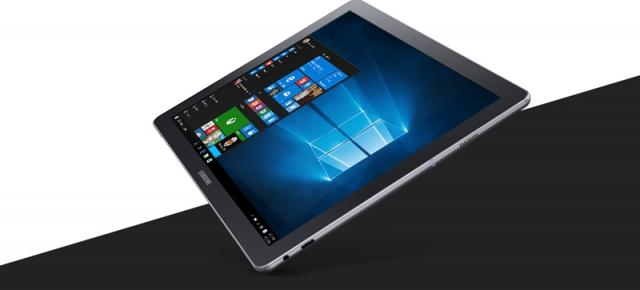 Tableta Samsung Galaxy TabPro S în varianta cu Windows 10 Home, este disponibilă acum la QuickMobile