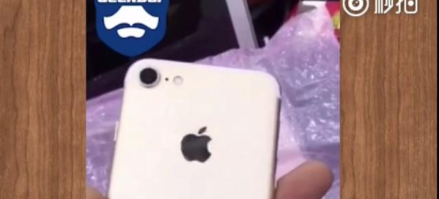 Un prototip funcţional de iPhone 7 apare într-un clip video hands on; Îl privim cu precauţie... (Video)