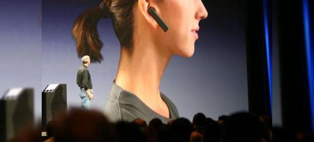 Headset-ul Bluetooth de la Apple se apropie!