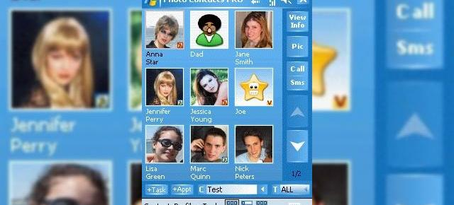 Photo Contacts PRO 5 Lansat