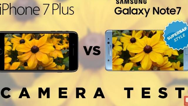 <b>Samsung Galaxy Note 7 versus iPhone 7 Plus în duelul camerelor realizat de SuperSaf; Câștigător exploziv! (Video) </b>Anterior, youtuber-ul SuperSAF ne prezenta un duel pe partea de foto-video între Samsung Galaxy S7 și recent lansatul iPhone 7, duel cu un câștigător detașat. Acum însă privim asupra unui alt test de categorie grea în care participanții sunt Galaxy Note 7