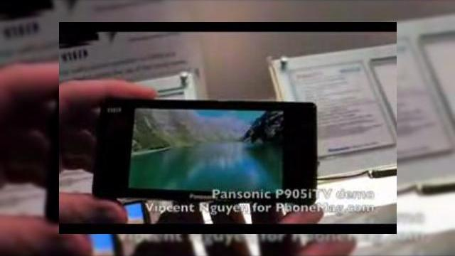 <b>Demo video al telefonului TV Panasonic VIERA P905iTV si lista completa de feature-uri</b>Telefonul Panasonic VIERA P905iTV si-a atras destul de multa celebritate in ultima vreme, fiind destul de popular in randul publicului asiatic. Terminalul este disponibil prin NTT DoCoMo si un clip video care ii demonstreaza capacitatile este disponibil...