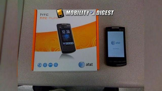 <b>Primele imagini reale cu HTC Pure isi fac aparitia pe web</b>Cei de la MobilityDigest tocmai au reusit sa puna mana pe primele imagini reale cu HTC Pure, versiunea AT&amp;T a lui HTC Touch Diamond 2, care ar trebui sa soseasca din start cu OS-ul Windows Mobile 6.5 la bord. Terminalul isi pastreaza camera de 5...