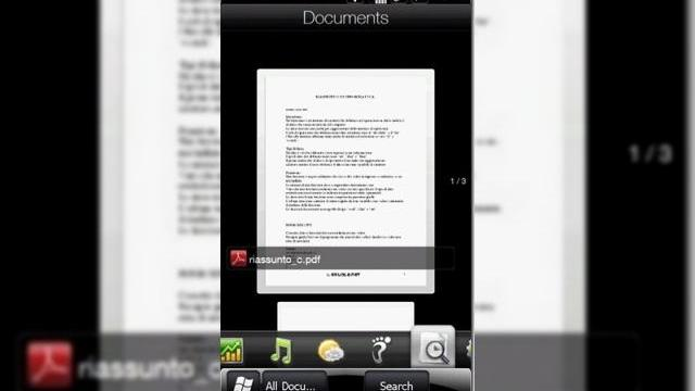 <b>TouchFLO 3D 2.5 are un tab nou: Documents</b>Developerii priceputi ai comunitatii XDA Developers au reusit sa afle un detaliu interesant despre noua interfata TouchFLO3D 2.5 a celor de la HTC. Se pare ca aceasta va include un tab Documents, care va include documente din folderul My Documents. &amp;nbsp;...