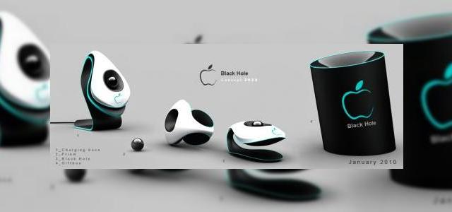 Image result for apple black hole concept