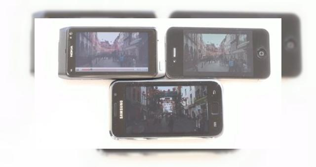 <b>iPhone 4 versus Samsung Galaxy S si Nokia N8: batalia display-urilor (Video)</b>Doua tehnologii sunt de baza in era moderna, cand vine vorba de display-urile smartphone-urilor: LCD si OLED. Acestea au evoluat la randul lor in IPS-LCD, in cazul lui iPhone 4, respectiv Super AMOLED, pe Samsung Galaxy S. Cei de la Phone Arena s-au...