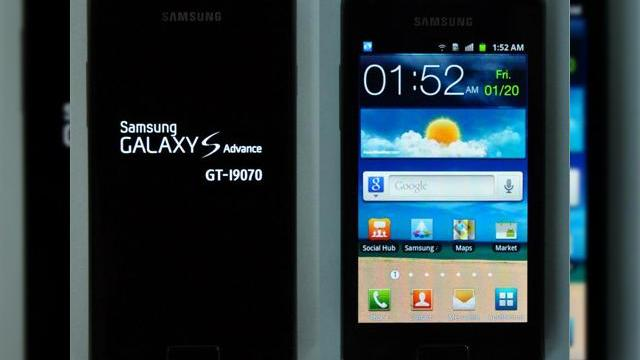 <b>Încă un Galaxy S: Samsung GT-I9070 este Galaxy S Advance; Iată imagini și un clip hands on (Video)</b>Seria de telefoane Galaxy pare a nu se mai termina și acum facem cunostiinta cu modelul Samsung Galaxy S Advance aka GT-I9070, care are parte de un clip video hands on mai jos. Terminalul are specificații comparabile cu cele ale lui Galaxy S, dar...
